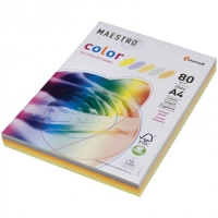"Бумага ""Maestro Color Trend Mixed Packs"" А4, 80г/м2, 250л. (5 цветов)"