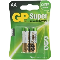 Батарейка LR06 GP Super Alkaline 15A CR2