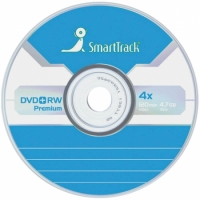 Диск DVD+RW 4.7Gb Smart Track 4x Slim