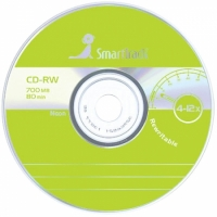 Диск CD-RW 700Mb Smart Track 4-12x Cake Box (50шт)