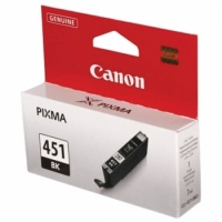 Картридж ориг. Canon CLI-451Bk черный для Canon PIXMA MG6340/MG5440/IP7240
