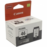 Картридж ориг. Canon PG-46 черный для Canon PIXMA E464/iP1600/iP2200/MP150/MP170/MP450 (180стр.)