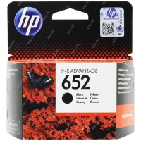 Картридж ориг. HP F6V25AE (№652) черный для DJ Advantage 1115/2135/3635/3835/4535/4675 (360стр.)
