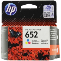 Картридж ориг. HP F6V24AE (№652) трехцветный для DJ Advantage 1115/2135/3635/3835/4535/4675(200стр.)