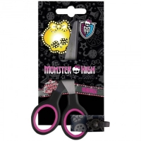 "Ножницы детские Hatber ""Monster High"" 13см,  европодвес"